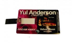 """Dream Away / Velvet Moon Double Album """"USB Music Card""""- New Release 2015"""
