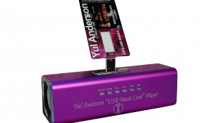 """Yul Anderson """"USB Music Card"""" and Player (Offer)"""