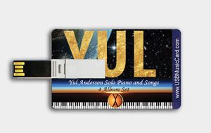 """YUL"" 4 Album Set ""USB Music Card""- New Release"